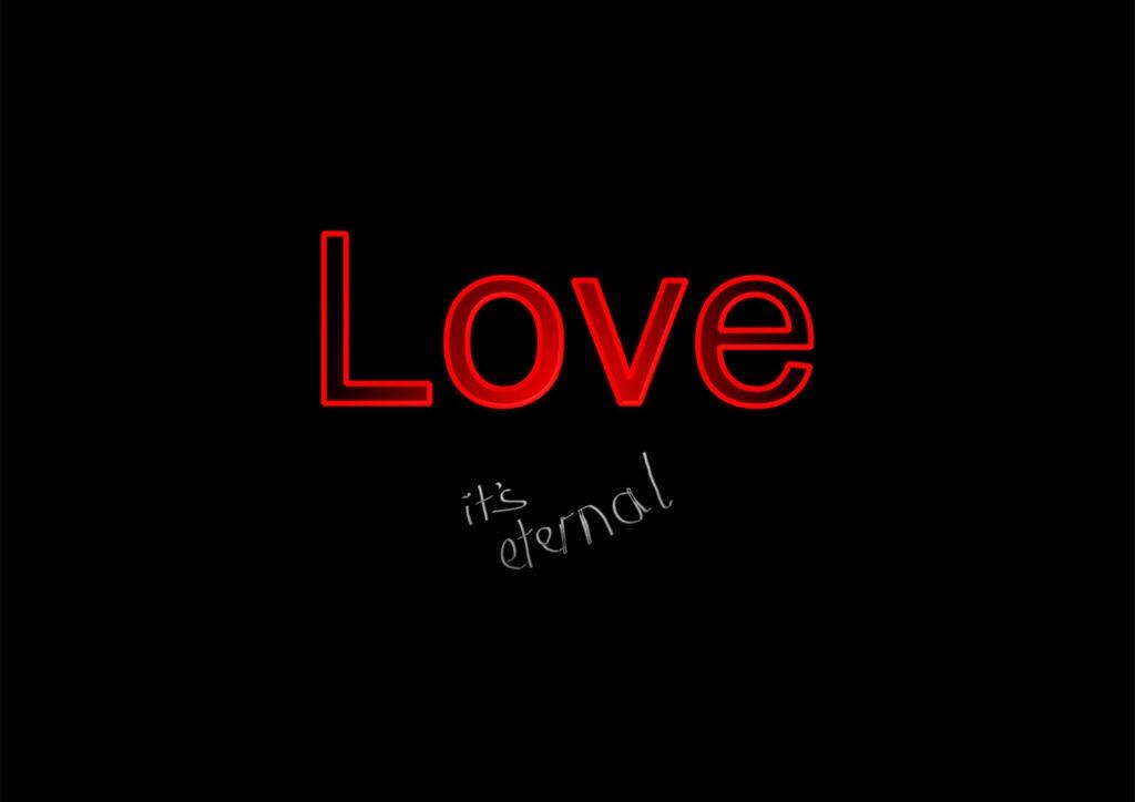 Love is eternal image